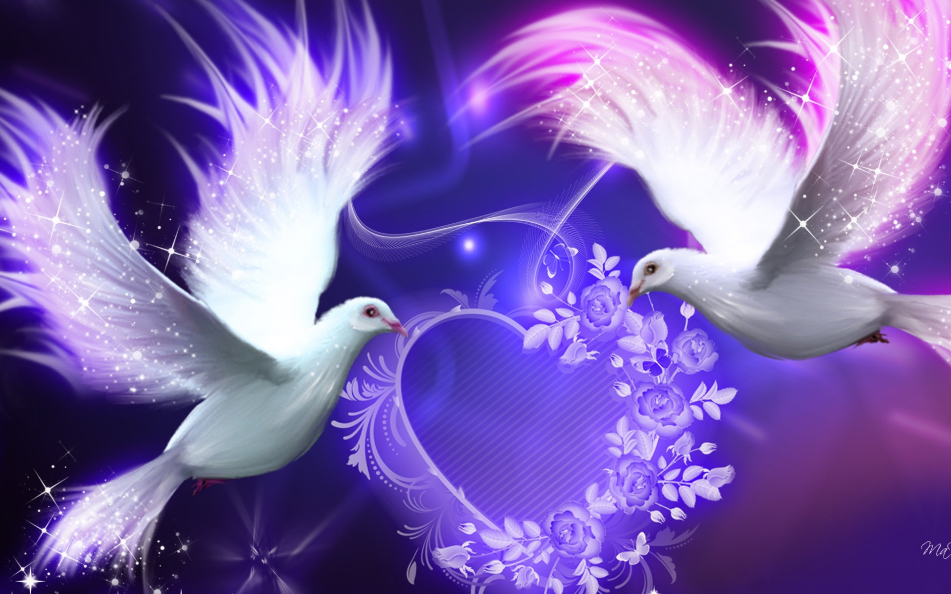 Astral Plane Paranormal Heavens Doves